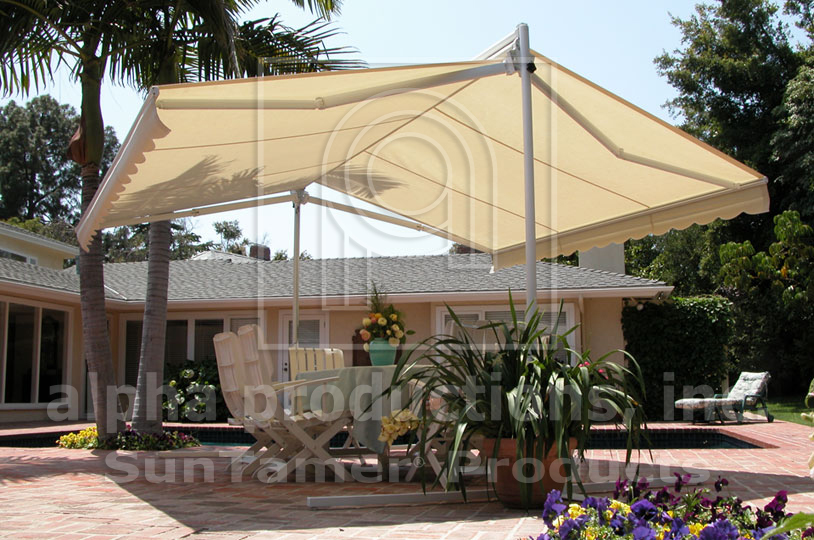 standing awning patio free fos canopies awnings